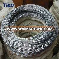 Low price concertina razor barbed wire price in bangladesh