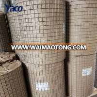 Cheap 1x1 galvanized welded wire mesh for bird cage weight per square meter price